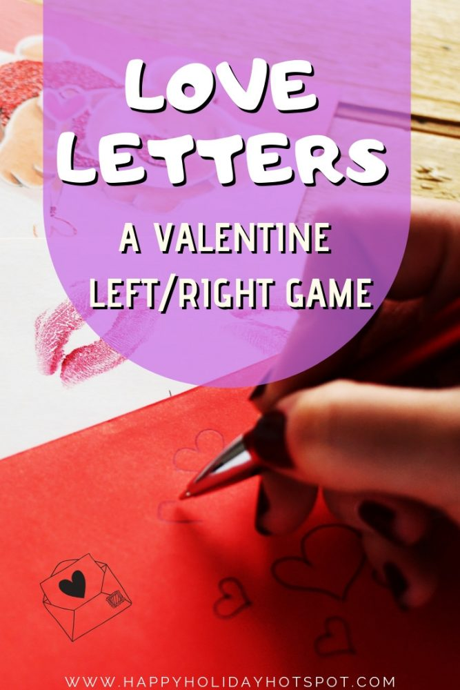 Love Letters - A Valentine Left_Right Game