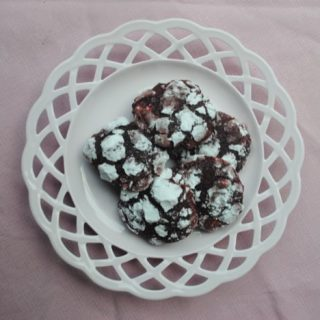 Valentine's Day Red Velvet Crinkles
