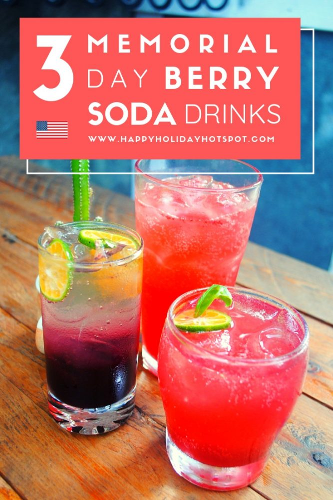 best memorial day berry soda drinks