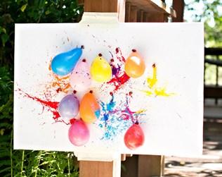 Balloon Dart Art