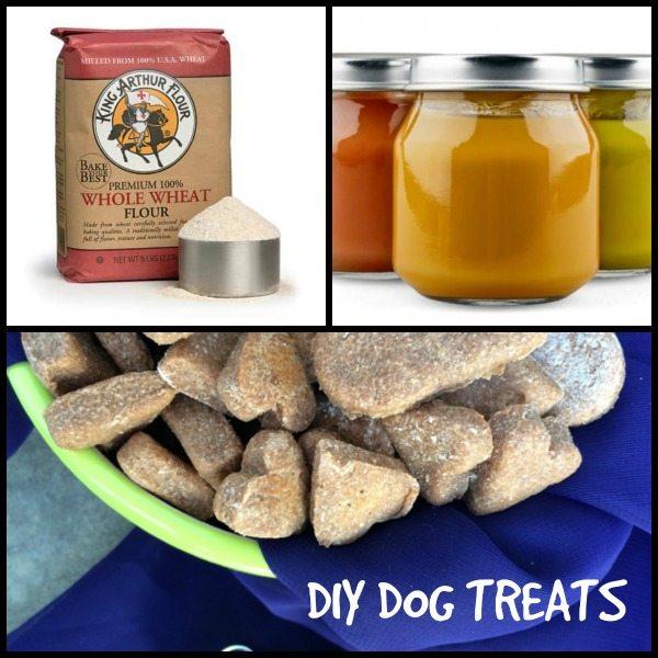 DIY Dog Treats – Two Ingredient Recipes