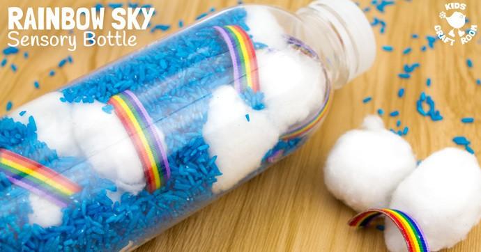 Rainbow Sky Bottle