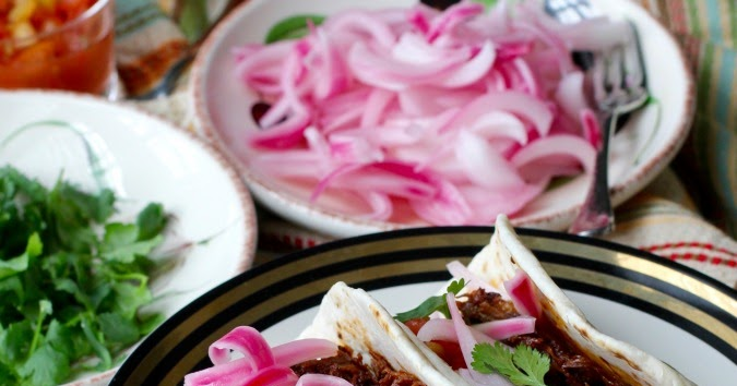 Guajillo-Braised Beef Short Rib Tacos