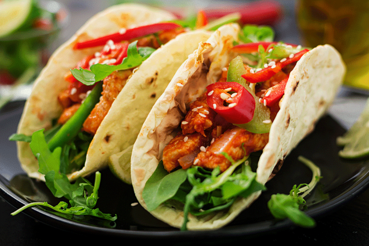 Slow Cooker Chicken Chipotle Tacos