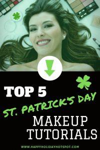 st patricks day makeup tutorials