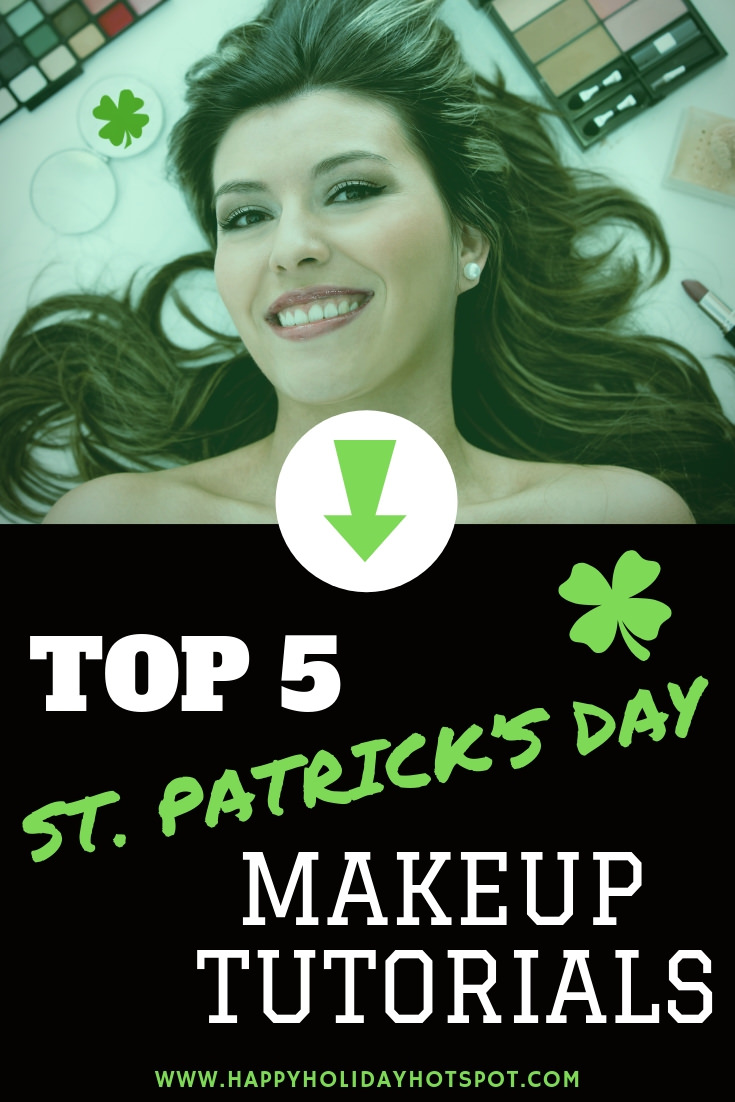 st patricks day makeup tutorials